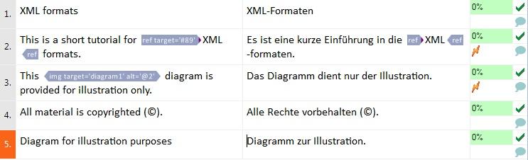 MemoQ xml filter config sample translation XML files (eXtensible Markup Language)