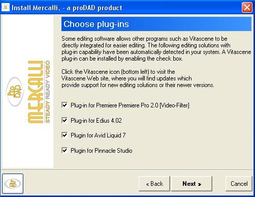 Mercalli plugin Installing & starting Mercalli