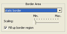 Mercalli randbereich Border settings