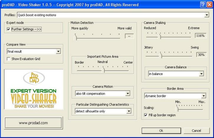 Mercalli videoshaker02 Video Shaker / add camera shake!