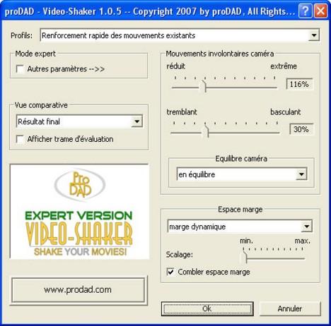 Mercalli videoshaker01 Video Shaker / créer des bougés artificiellement !