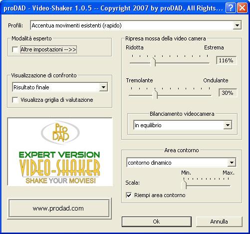 Mercalli videoshaker01 Video Shaker / Effetti mossi creati artificialmente!
