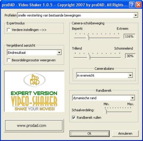 Mercalli videoshaker01 Video Shaker   Wankelingen op een kunstmatige manier veroorzaakt!