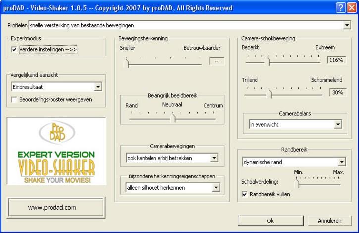 Mercalli videoshaker02 Video Shaker   Wankelingen op een kunstmatige manier veroorzaakt!