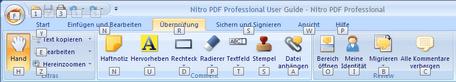 NitroPDF  img59.zoom57 Multifunktionsleisten Tastenkurzbefehle