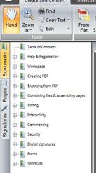 NitroPDF bookmarks%20pane Lesezeichen und Seiten