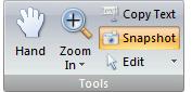 NitroPDF tools Pagina snapshots kopiëren