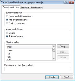 Nod32 ea charon sample Sumnjive datoteke