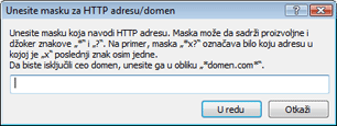 Nod32 ea config epfw url set manager Liste HTTP adresa/maski