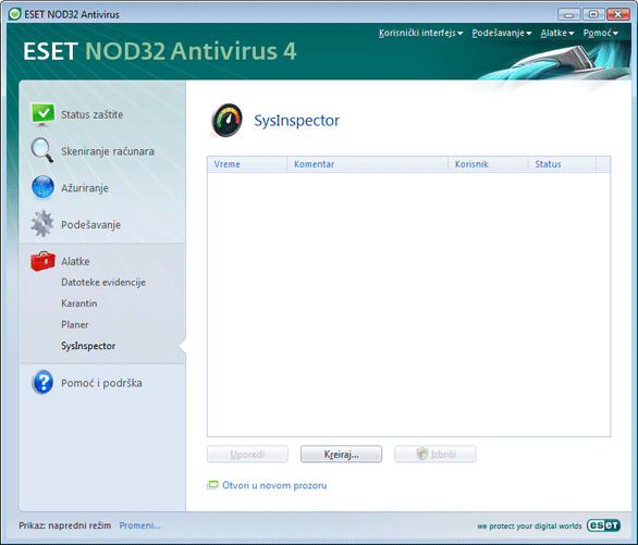 Nod32 ea page sysinspector ESET SysInspector