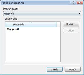 Nod32 ea profile manager Upravljač profilima