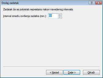 Nod32 ea scheduler repeat Dodavanje zadatka – ponovljeno