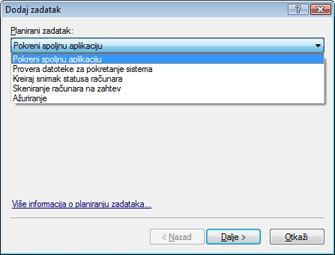 Nod32 ea scheduler task Planirani zadaci