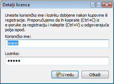 Nod32 ea settings update username Detalji o licenci