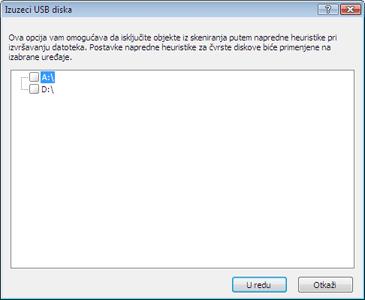 Nod32 ea usb devices amon Podešavanje blokiranja prenosivih medijuma