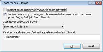 Nod32 config advanced alert Rozšířené nastavení