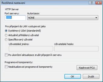 Nod32 ea config update mirror advance Rozšířené nastavení – mirror