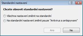 Nod32 ea default2 Standardní  nastavení 2