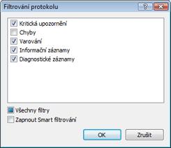 Nod32 ea log filter Filtrování protokolu
