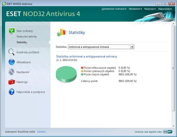 Nod32 ea page status antivirus Antivirus a antispyware