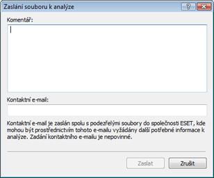 Nod32 ea quarantine charon Zaslání souborů k analýze