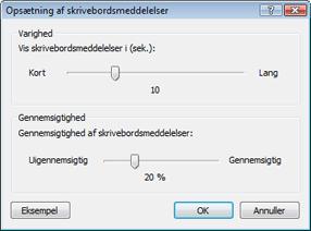 Nod32 ea config desktop Opsætning af skrivebordsmeddelelser