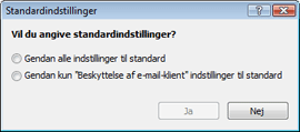 Nod32 ea default2 Standardindstillinger 2