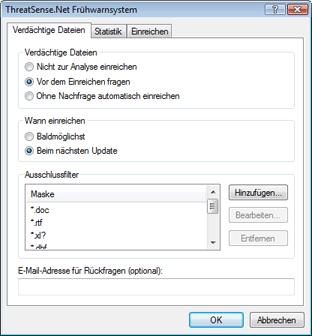 Nod32 ea charon sample Verdächtige Dateien