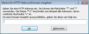 Nod32 ea config epfw url set manager HTTP Adress /Maskenlisten