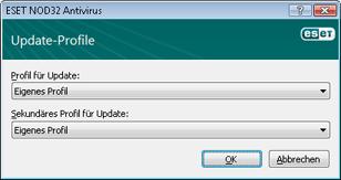 Nod32 ea config update sched Update Profile