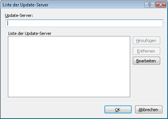 Nod32 ea config update servers Liste der Update Server
