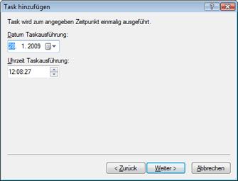Nod32 ea scheduler once Task hinzufügen – Einmalig