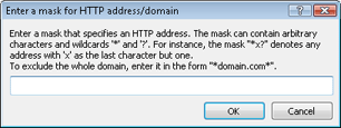 Nod32 ea config epfw url set manager HTTP address/ mask lists