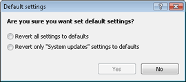 Nod32 ea default1 Default settings 1