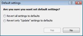 Nod32 ea default2 Default settings 2