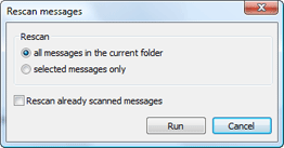 Nod32 ea dialog mailplugins processing messages Rescan messages