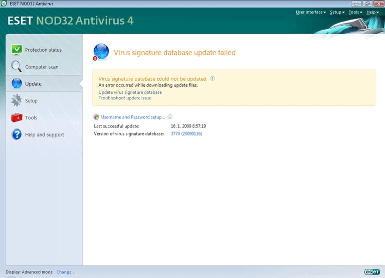 Nod32 ea page update 03 Update