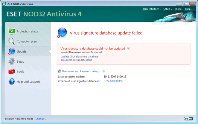 Nod32 ea page update 04 Update