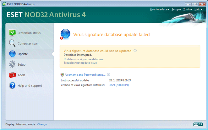 Nod32 ea page update 05 Update