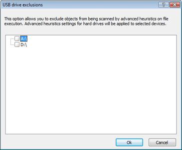 Nod32 ea usb devices amon Removable media block setup
