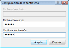 Nod32 ea change password Modificar contraseña