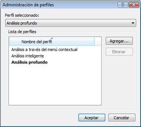 Nod32 ea profile manager Administrador de perfiles