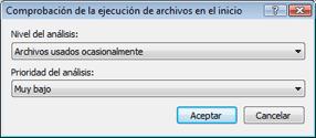 Nod32 ea startup app Verificación automática de la ejecución de archivos en el inicio