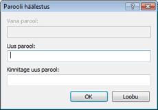 Nod32 ea change password Parooli muutmine