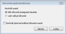 Nod32 ea dialog mailplugins processing messages Kontrolli sõnumid uuesti
