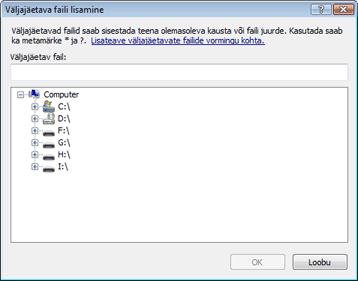 Nod32 ea exclude Väljajäetavate failide lisamine või muutmine