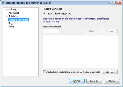 Nod32 ea config extension Tiedostotunniste