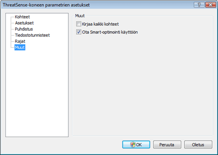 Nod32 ea config system Muut