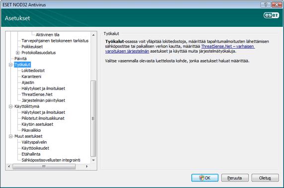 Nod32 ea config tools Työkalut