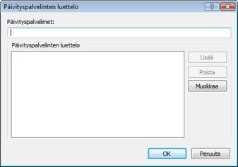 Nod32 ea config update servers Päivityspalvelinten luettelo